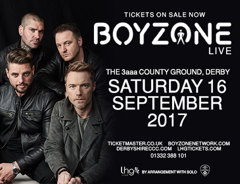 Boyzone events home image