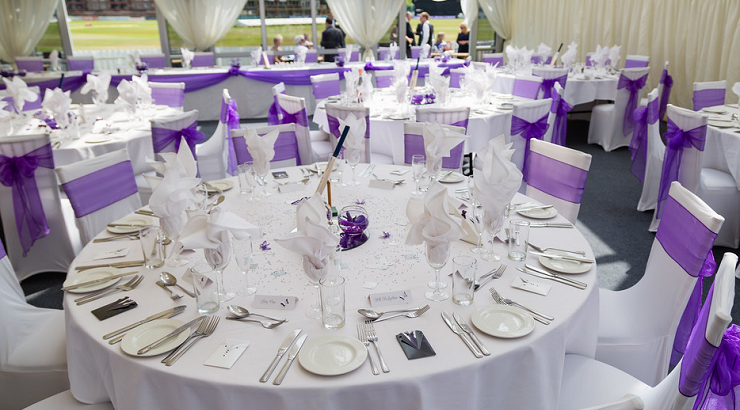 Derbyshire cricket club wedding