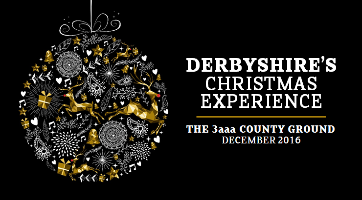 Celebrate your Christmas Party with us - Derbyshire County ...