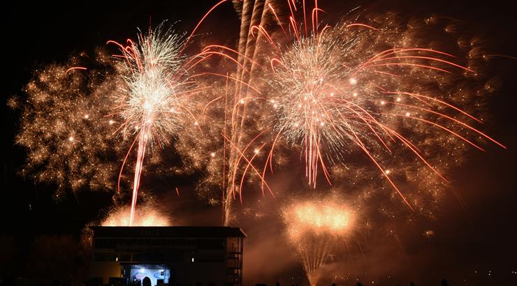 OKI& Fireworks 6