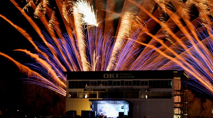 OKI & Fireworks